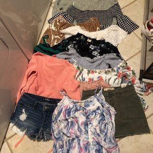 Bundle of Hollister clothing